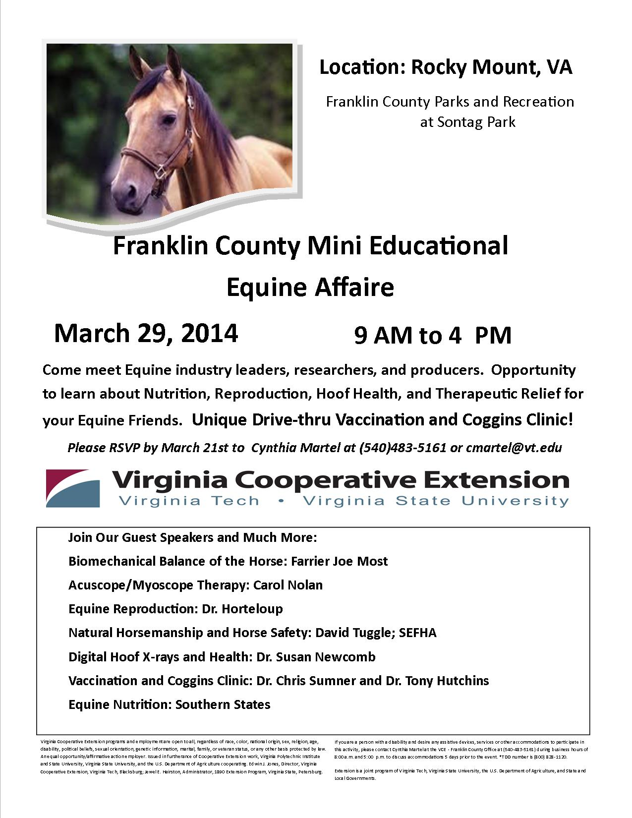 2014 Franklin County Mini Educational Equine Affaire