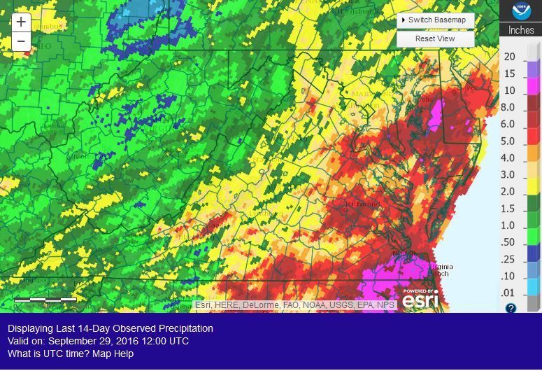 Precip Analysis 092716