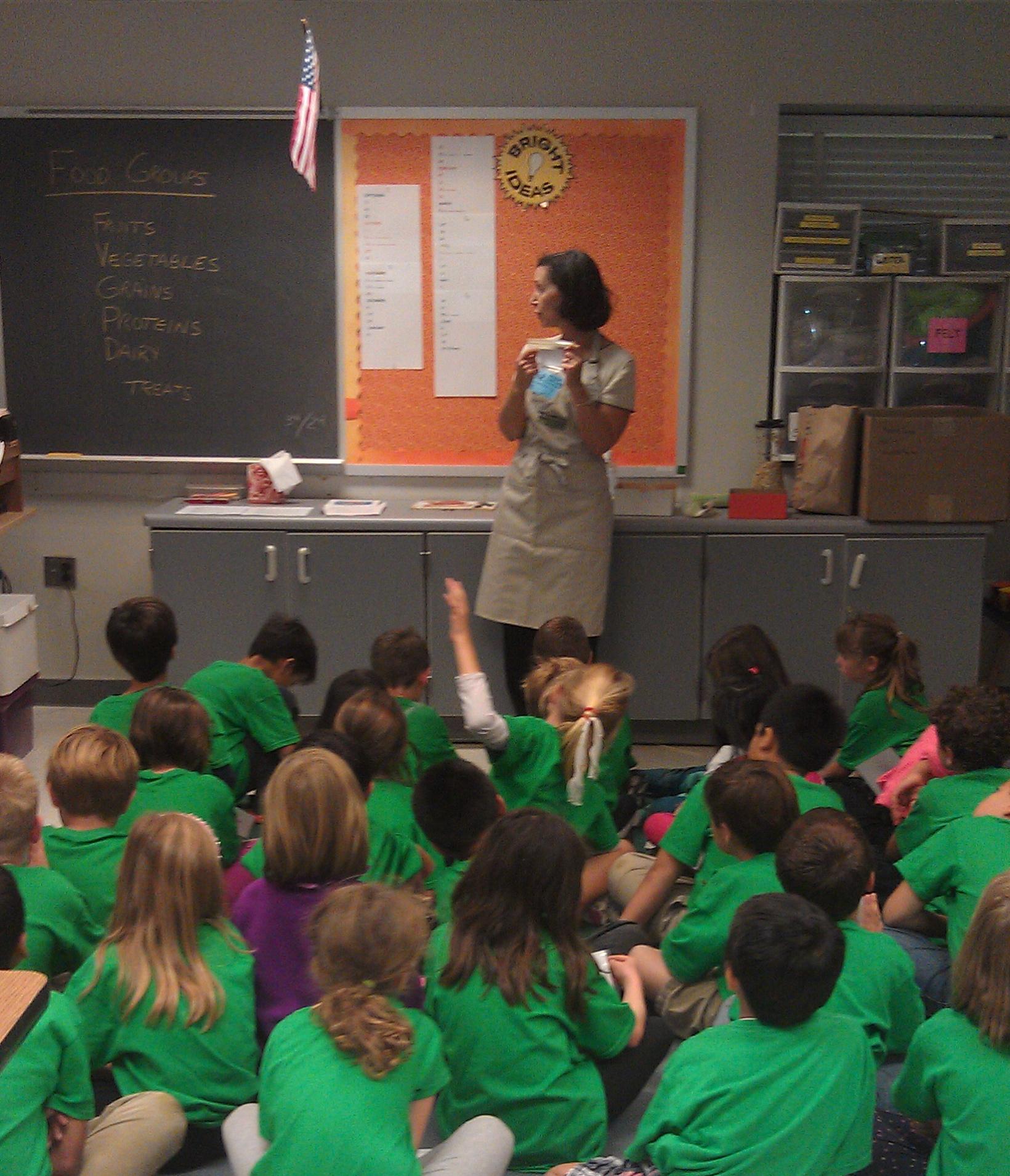 Master Food Volunteer nutrition activities