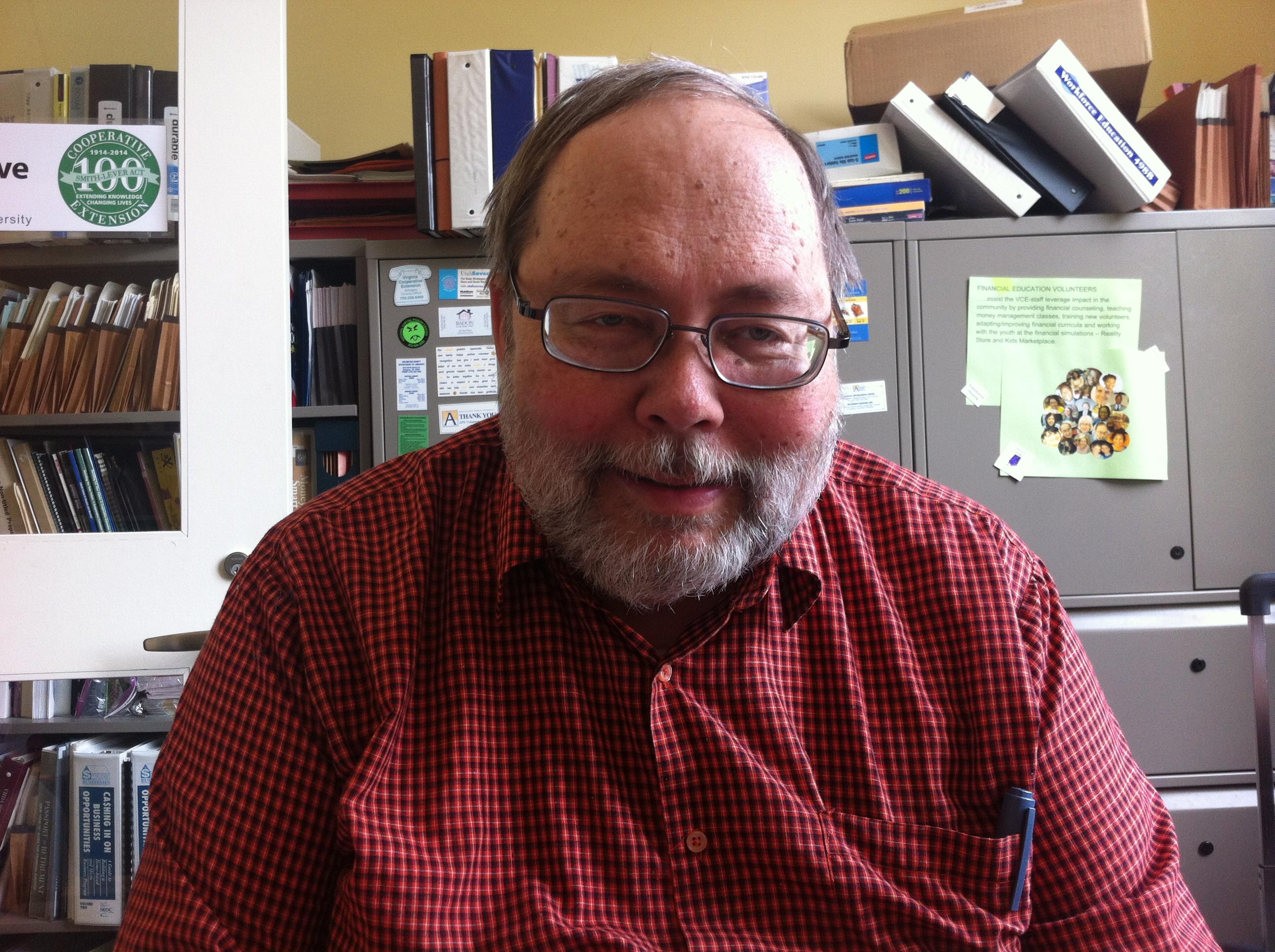 Master Financial Education Volunteer Roger Brown