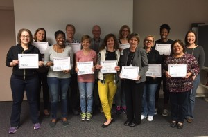 The spring 2016 class of Master Food Volunteers completed their training last Friday.