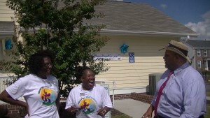 Portsmouth MFVs, Regina J and Esther L at Portsmouth Redevelopment and Housing Authority's Community Day with the Mayor of Portsmouth, Kenny Wright