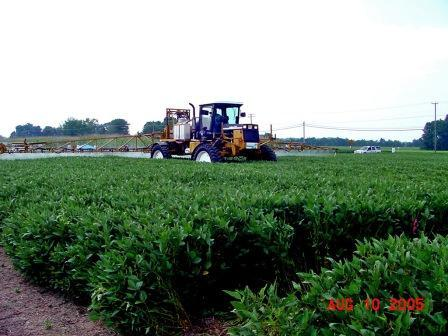 Fungicide Application