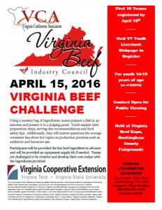 Virginia Beef Challenge